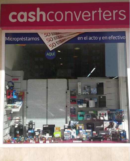 Cash Converters Málaga, Avda. Velázquez, 31-33. Compra venta de segunda mano