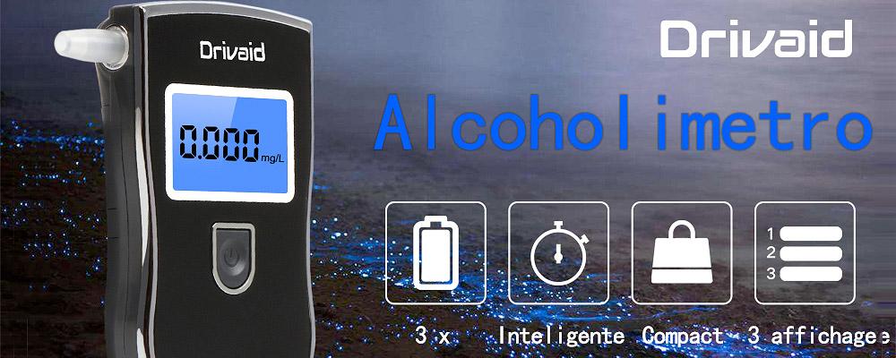 Alcoholimetro digital portatil