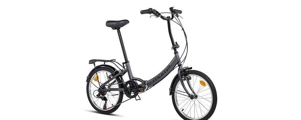 "bicicleta ciudad Moma First Class 20"""