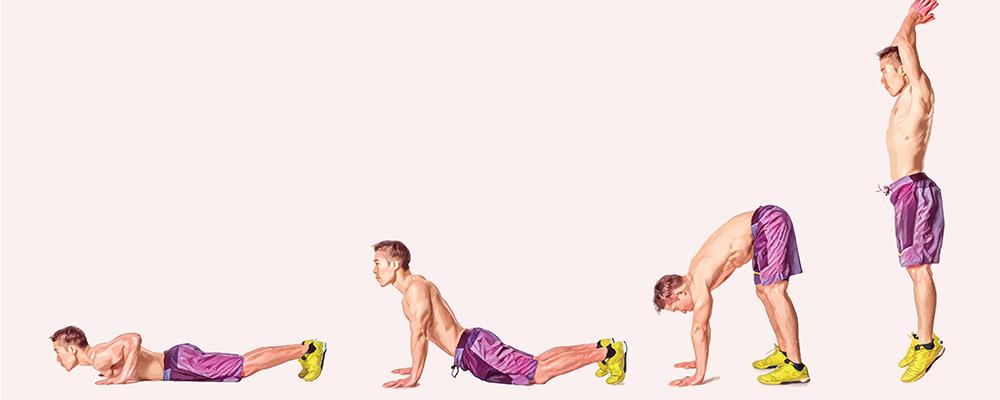 mejores-ejercicios-en-casa-Burpees
