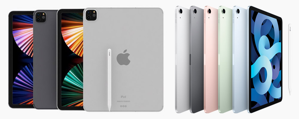 iPad Pro 2021 vs iPad Air 4